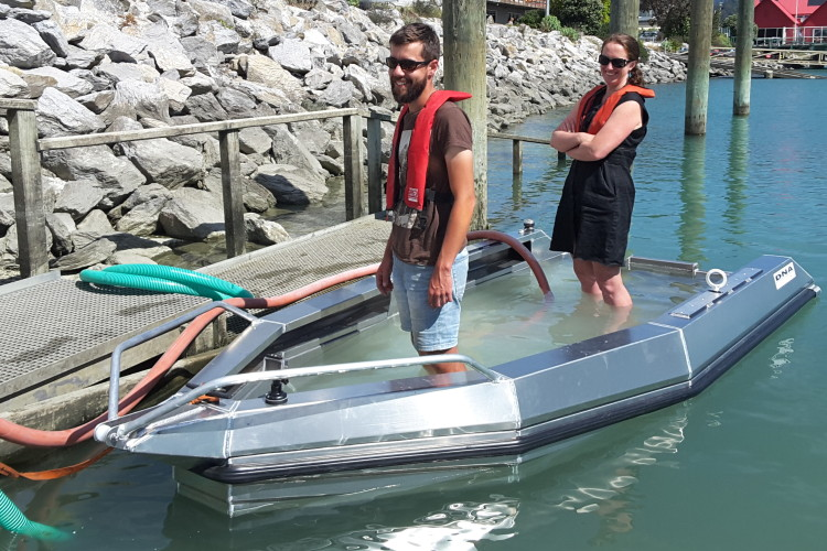 New DNA dinghy for Cawthron Institute in Nelson