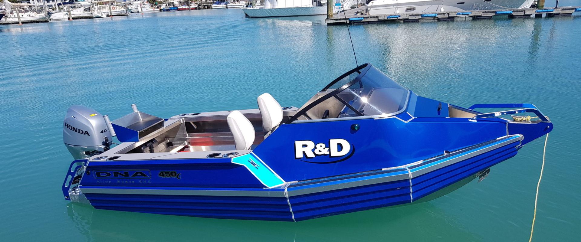 DNA Boats 450C - Rodeney Marine 2